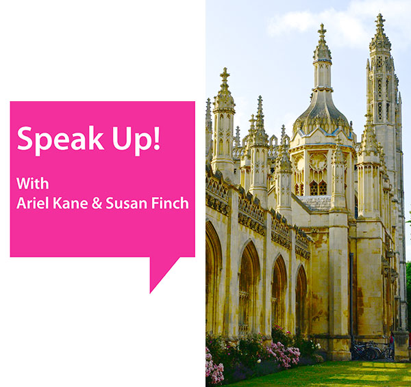 Speak Up! and Fun as the Access Way to Enlightenment with Ariel & Shya Kane in Cambridge, UK