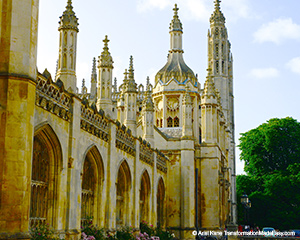 Excellence, Well-Being & Satisfaction: The Art of Being Yourself in Cambridge, UK