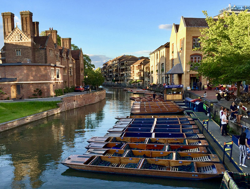 The River Cam in Cambridge, England