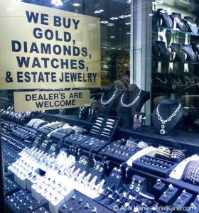 Diamanten zu deinen Füßen